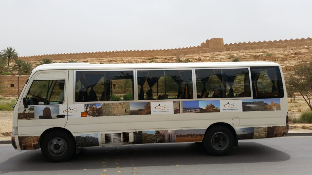 Haya Tours bus